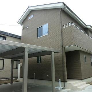 今日の富山市草島モデルハウス...(^^;