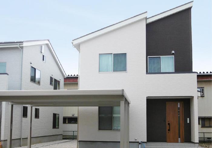 富山市向新庄モデルハウス1号棟